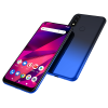 BLU G70 smartphone blau