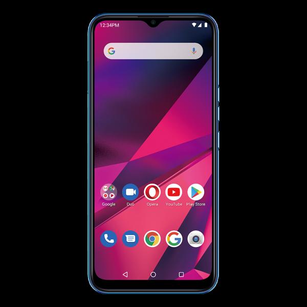 BLU G90 smartphone blau